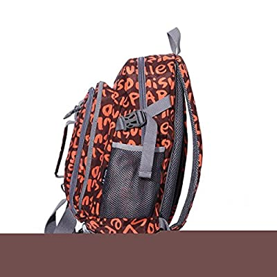 KDHJJOLY Practical New Style Backpack for Middle or Primary School Boys and Girls Chic