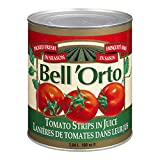 Bell'Orto Tomato Strips in Juice, 2.84L Can, 6 Count