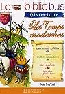 Les temps modernes CM cycle 3 : Louis XIII et Richelieu ; Les trois mousquetaires ; Don Quichotte ; La plante tueuse par Dupont (II)
