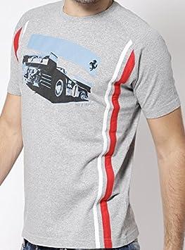 Camiseta para hombre color rojo. Ferrari Sportscar Berlinetta Vintage GT Racing 1969 312p