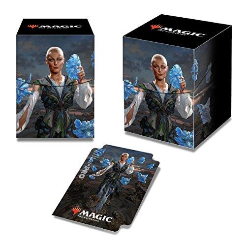 Ultra Pro Magic: The Gathering Commander 2018 Estrid, the Masked PRO-100+ Deck Box (Best Commander Deck Box)