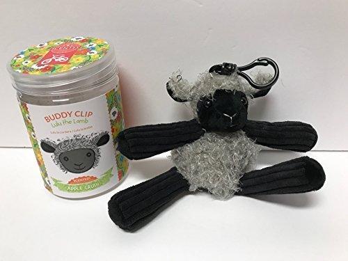Scentsy Lulu the Lamb Buddy Clip & Apple Crush Scent