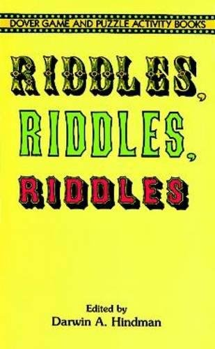Riddles, Riddles, Riddles (Dover Children's Activity Books)