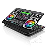 LSS 15 15.6 inch Laptop Notebook Skin Sticker Cover Art Decal Fits 13.3'' 14'' 15.6'' 16'' HP Dell Lenovo Apple Asus Acer Compaq (Free 2 Wrist Pad Included) Boon Box Music