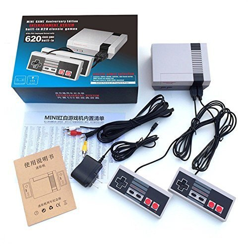 Mini Retro Classic Game Consoles Built-in 600 Childhood Classic TV Video Games Dual Control 8-Bit Console Handheld Game Player made exclusive SA63000RCA model number