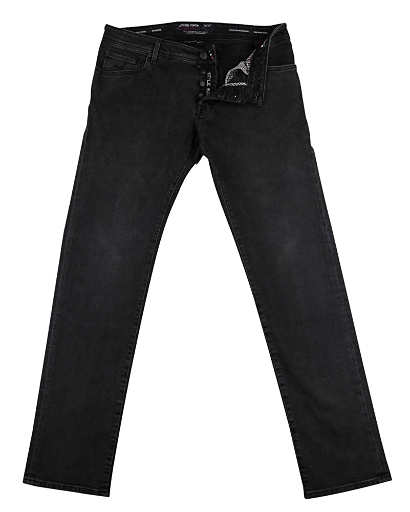 Slim Jacob Coh/ën New Dark Charcoal Gray Jeans