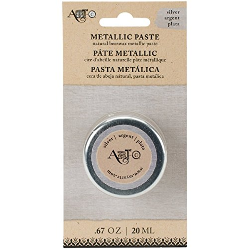 Momenta 25970 Art-C Wax Paste Metallic 20ml-Silver by Momenta