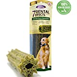 "VEGEBRAND 7 Dental Effects 6.4"" 3.5 Oz. Assorted Flavored Large Dog Dental Chews & Treats, Food for Dogs Teeth Care and Bad Breath Exception, Snacks is 100% Natural and Digest No rawhide bone 1per Bag"