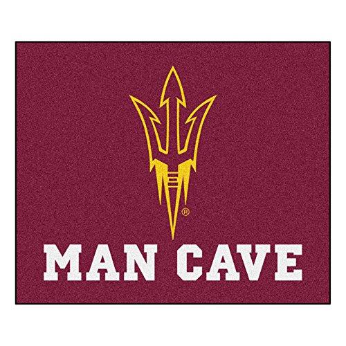 Tailgater Rug Arizona State (NCAA Arizona State University Sun Devils Man Cave Tailgater Rectangular Mat Area Rug)