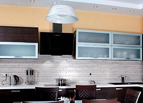 Campana extractora para cocina Akpo Nero, 50 cm, color negro: Amazon.es: Grandes electrodomésticos