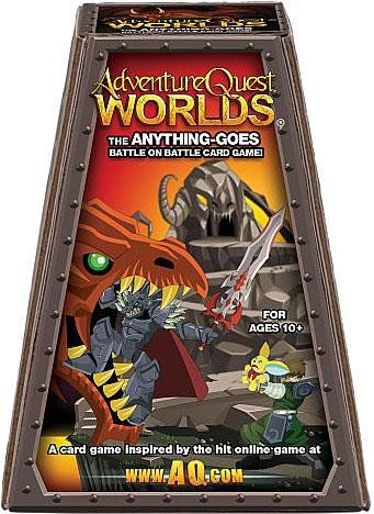 Adventure Quest Worlds The Anything Goes Battle on Battle Card Game by AdventureQuest World