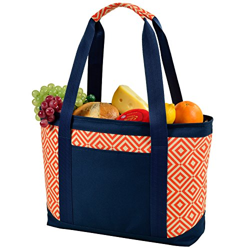 Picnic at Ascot Large Insulated Fashion Cooler Bag - 24 Can- Designed & Quality Approved in the USA