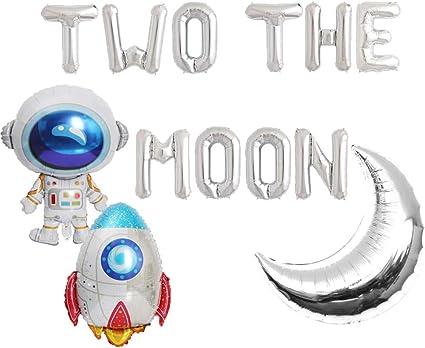 Amazon.com: HEETON Dos globos de la luna, 2 el espacio de la ...