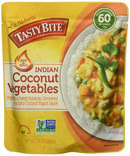 TASTY BITE ENTREE POUCH COCONUT VEG 10OZ