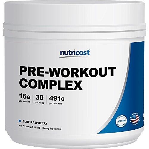 Nutricost Pre-Workout Complex 30 Servings (Blue Raspberry)