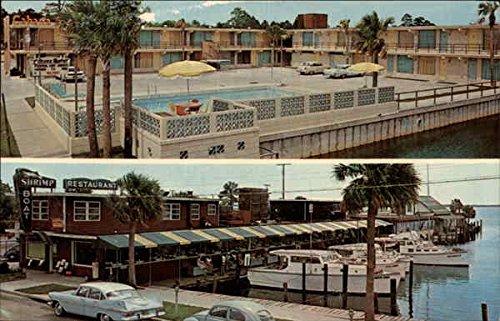 Shrimp Boat Restaurant Panama Diocese, Florida Original Vintage Postcard
