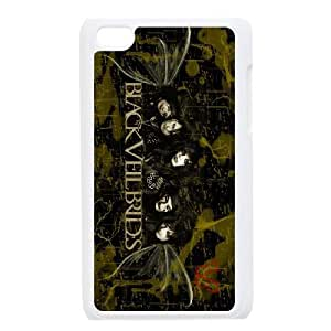 High Quality Phone Back Case Pattern Design 6Black Veil Brides Series- FOR IPod Touch 4th