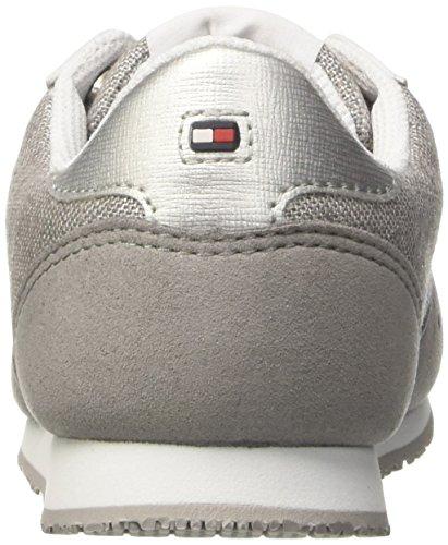 Tommy 14c1 Garçons Sneaker J3285aimie Et Argento Argent Filles Hilfiger Basses FvwrqFE