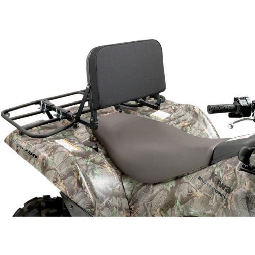 Moose Atv - Moose Racing ATV Back Rest Black Universal