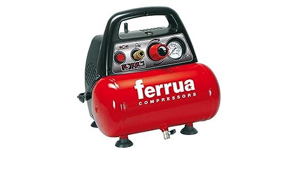 Compresor de aire seco Ferrua-portátil.: Amazon.es: Bricolaje y herramientas