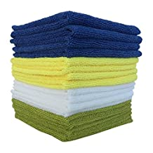 Premium Microfiber Cloth, Cleans with Very Little Effort, Ideal for Furniture Polish, Cleaning, Dusting, your Valuable Goods from Electronics, Car, Glass, IPad, TV Screens, Kitchen & More on Sale Now