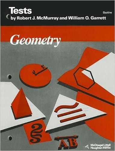 Amazon geometry tests blackline 9780395573327 mcdougal geometry tests blackline fandeluxe Choice Image