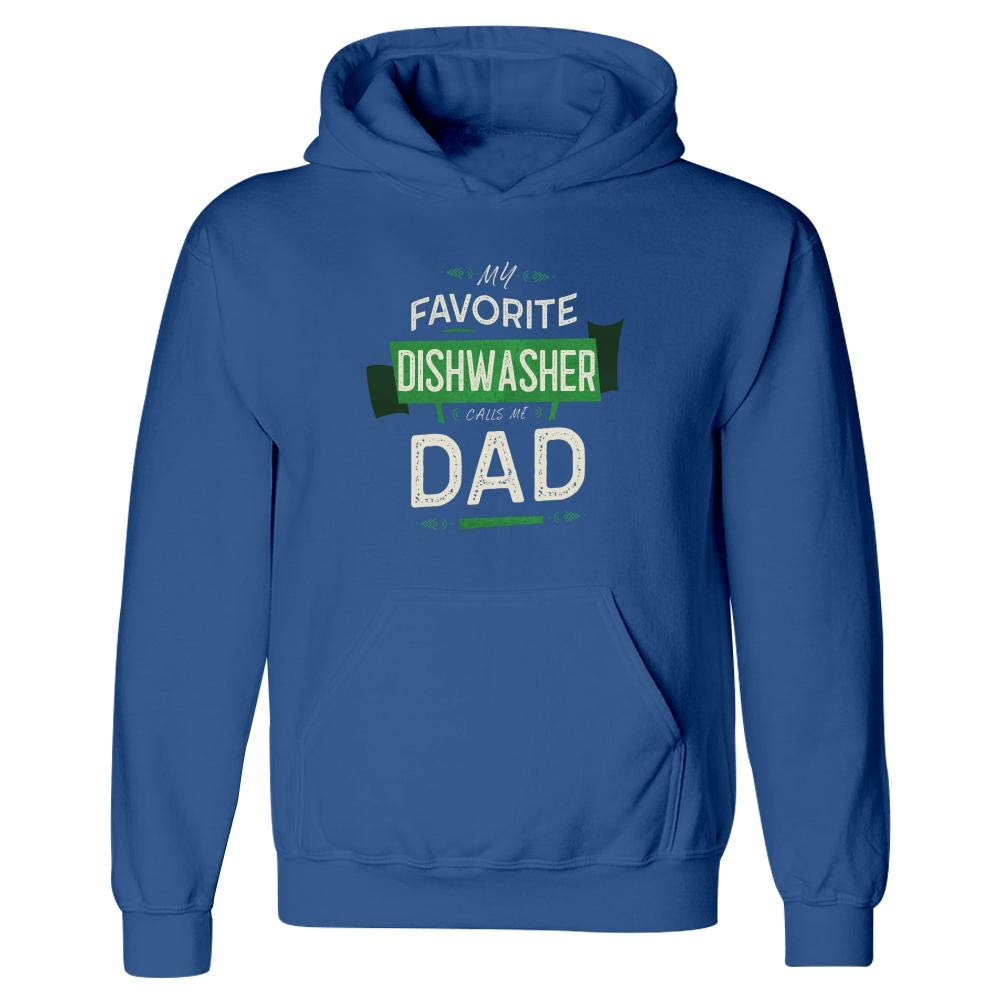 My Favorite Dishwasher Calls Me Dad Hoodie