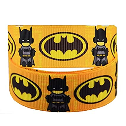 Outstanding 2M X 22Mm Lego Batman Grosgrain Ribbon For Cakes Birthday Cakes Birthday Cards Printable Opercafe Filternl