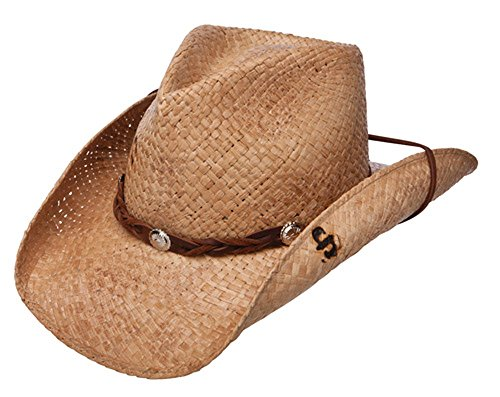 Stetson Comstock - Shapeable Straw Cowboy Hat ()