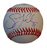 Texas Rangers Shawn Tolleson Autographed Hand Signed Baseball with Proof Photo of Signing, Los Angeles Dodgers, Tampa Bay Rays, COA