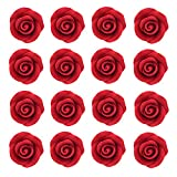 Rose Premium Candy Red, Unwired, Small 32 Count by Chef Alan Tetreault