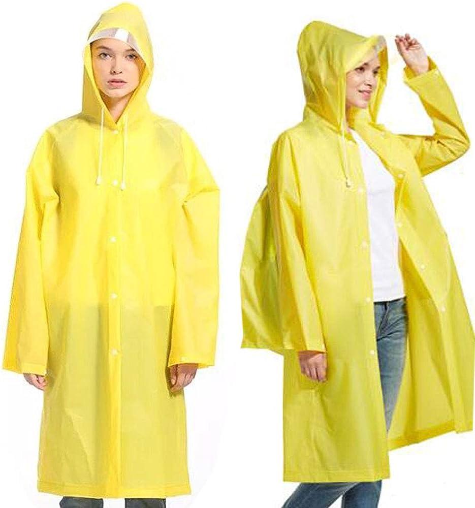 Phego Poncho de lluvia impermeable transpirable con largo protector de lluvia