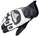 Komine GK-170 titanium sports glove Black / White XL 06-170