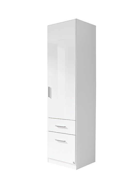 Büroschrank weiß schubladen  Rauch Schrank Weiß Hochglanz mit Schubladen 1-türig, Korpus ...