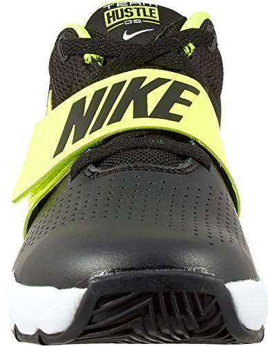 Nike Kids Preschool Team Hustle D 8 Scarpe Da Basket Nero / Volt