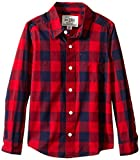 The Children's Place Boys' Long Sleeve Rayburn Check Top