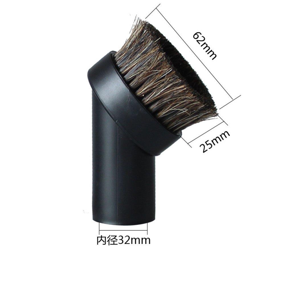 ETbotu Horse Hair Round Brush for Household Vacuum Vacuum Cleaner Parts