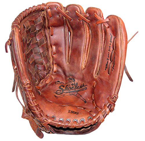 Diamond Ready Baseball Gloves Shoeless Jane 13'' Fast Pitch Basket Weave Pocket Glove (Right Hand Throw)
