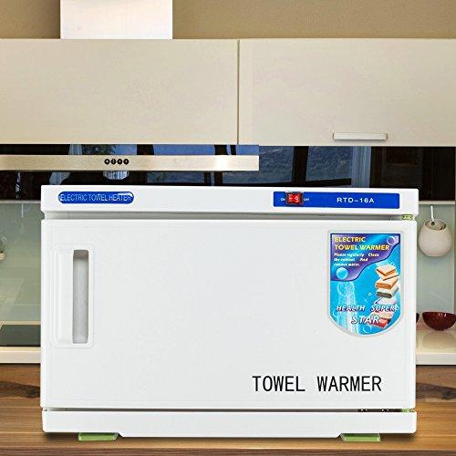 MallMall Towel Tool Sterilizer Warmer Cabinet 16L 23L 32L 46L UV Sterilizer Towel Warmer Cabinet Spa Beauty Salon Equipment (16L) from Mallmall