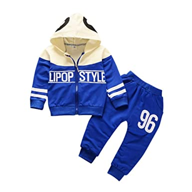 Sincere 2019 Spring New Cotton Clothes Sets Baby Girls Boys Sports Kids Hooded T Shirt Pants 2pcs Children Kids Casual Suits Tracksuits Clothing Sets Mother & Kids