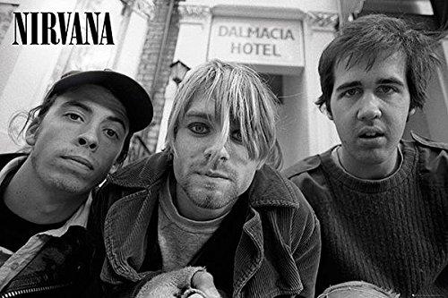 Nirvana Poster Band Portrait (36