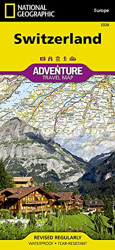 Switzerland (National Geographic Adventure Map)...