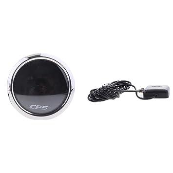 Sharplace Gps De La Motocicleta Digital Lcd Accesorios Automóvil Coche Moto