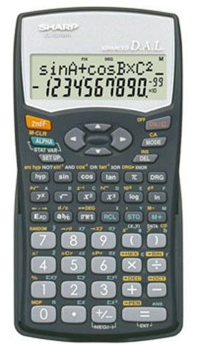 SHARP EL 531WHBK Sharp Scientific Calculator