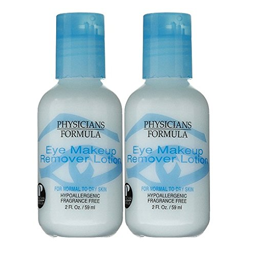 Physicians Formula Eye Makeup Remover Lotion, Normal to Dry Skin - 2 oz - 2 pk ()