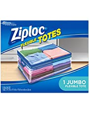 Ziploc Storage Bags, 1 Count, Jumbo Flexible Totes