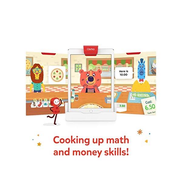 Glooke Selected OSMO Pizza Co. con tabellone, ingredienti, banconote, monete Giochi Interattivi Educativi 3 spesavip
