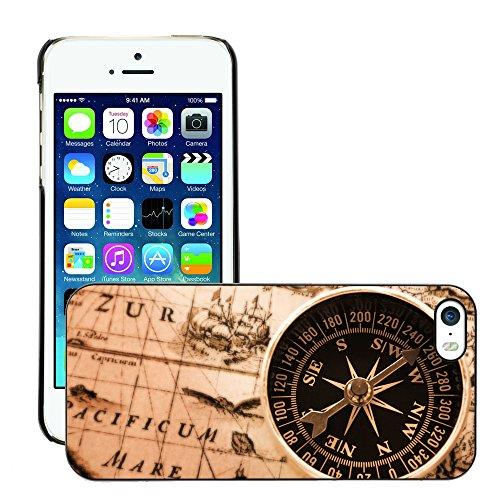 Premio Sottile Slim Cassa Custodia Case Cover Shell // V00001983 Old map // Apple iPhone 5 5S 5G