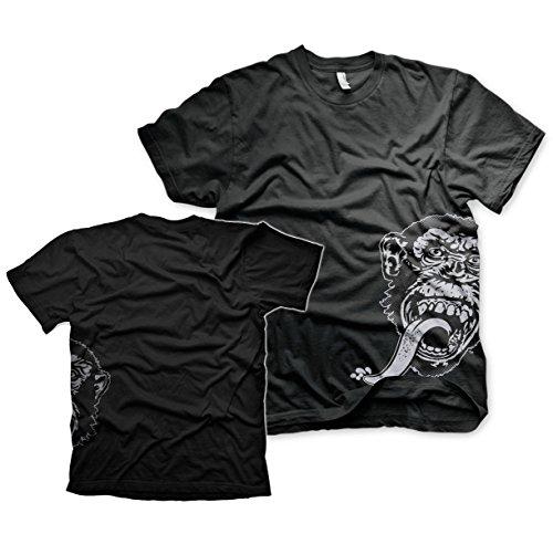 Offizielles Lizenzprodukt Gas Monkey Sidekick T-Shirt (Schwarz)
