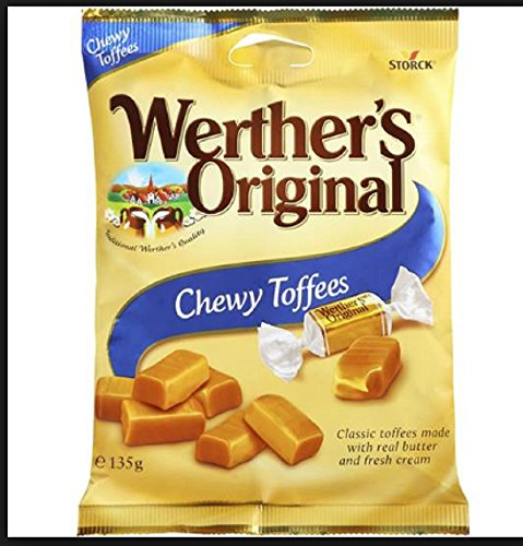 Werther's Chewy Toffees 135gr